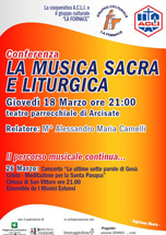 La Musica Sacra E Liturgica