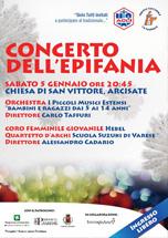 concerto Epifania Arcisate