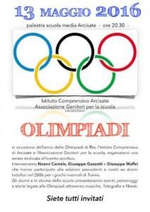 Programma Olimpiadi di Arcisate 2016