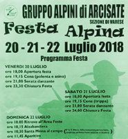 Festa Alpini Arcisate 2018
