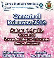 Concerto Di Primavera Corpo Musicale Arcisate2019
