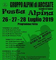 Festa Alpina Arcisate 2019