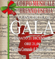 Concerto Di Gala Corpo Musicale Brenno Useria